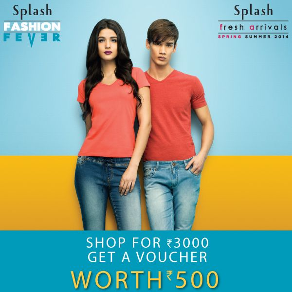 Shopping is something we just can't resist! Shop at Splash and avail exciting vouchers at a Splash store near you. #Shop #Splash #Fashion #SpringSummer