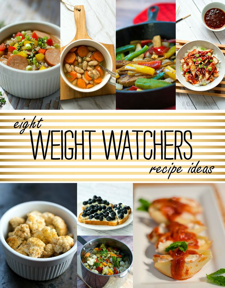 Weight Watchers Recipe Ideas  - Weight Watcher Dinner Ideas - Weight Watcher Snack Ideas - Weight Watcher Breakfast Ideas - Weight Watchers Lunch Ideas @ It All Started With Paint www.itallstartedwithpaint.com