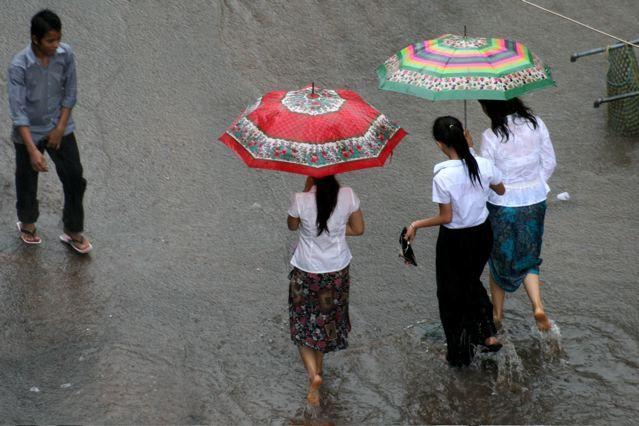 Inundacion, sur Asia 2007