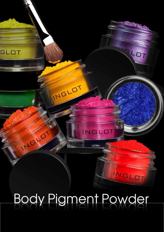 #BeautyProducts - #Inglot Cosmetics Body Pigment Powder