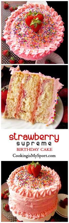 a guide to making a strawberry cake How to make homemade strawberry cake with strawberry frosting  whisk in 1/2  cup of reduced strawberry puree, making sure there are no.