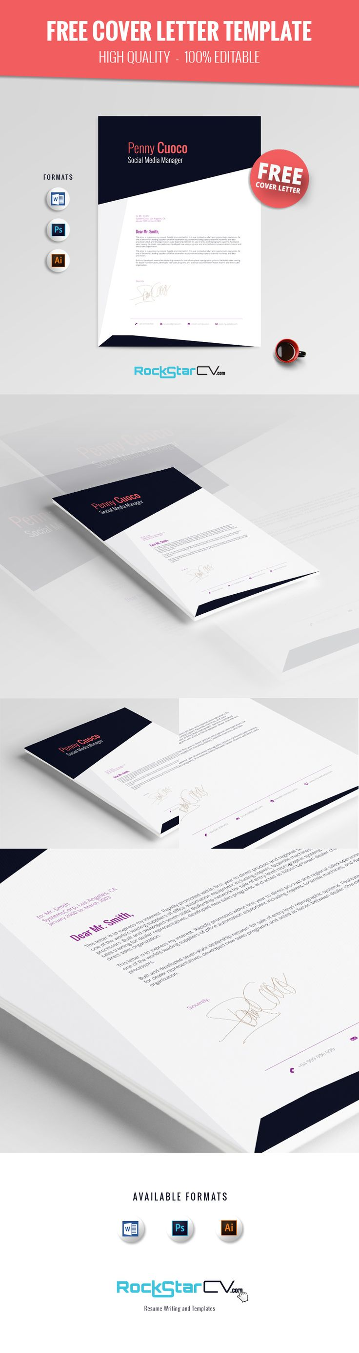 1000 ideas about cover letter cv design cover letter askella rockstarcv com cover