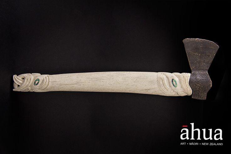 Patiti (hatchet) | Ahua Māori Art Gallery | NZ Maori Arts and Crafts