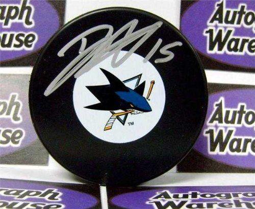 Dany Heatley San Jose Sharks Autograph