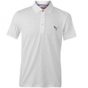 Acest tricou polo barbatesc este tipul clasic de tricou polo, cu o constructie usor de purtat si un material excelent. Tricoul polo barbatesc are 3 nasturi la anchior si semnul Puma brodat pe partea stanga a pieptului.