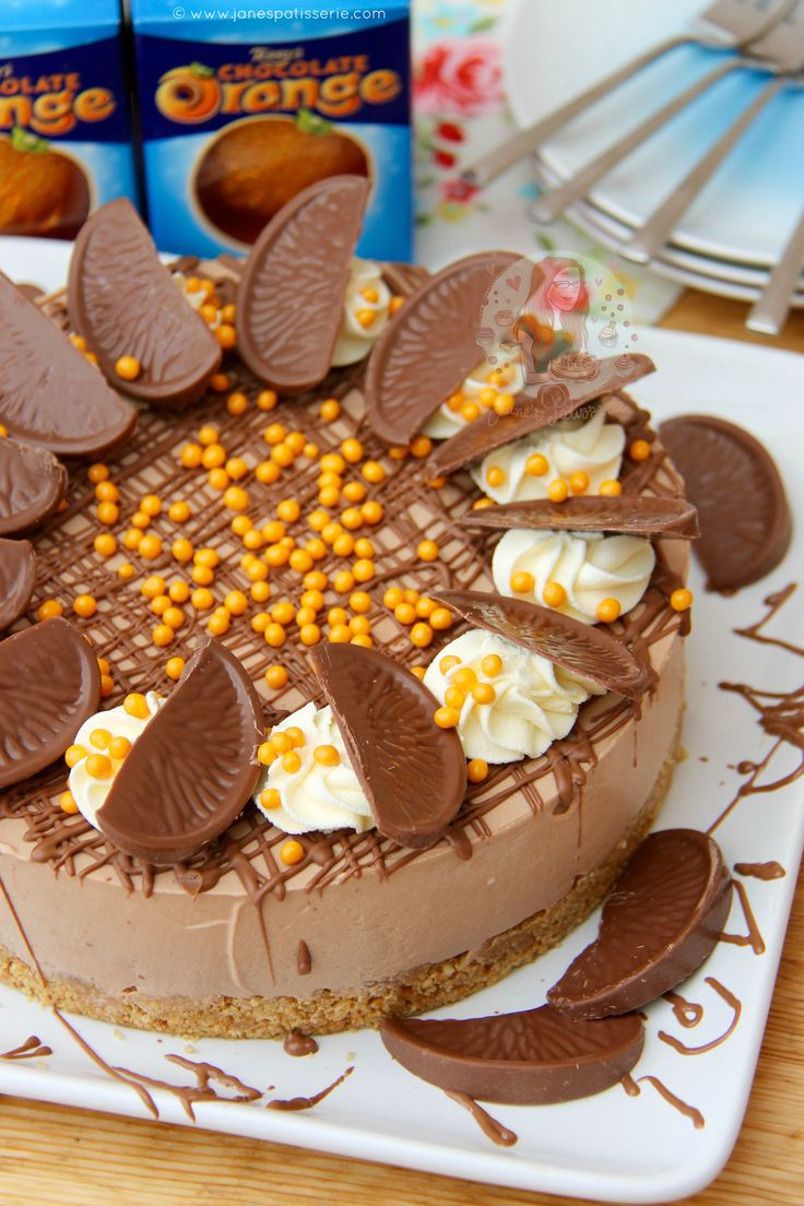 Deliciously creamy No-Bake Terry's Chocolate Orange Cheesecake perfect for Dessert and an Afternoon Treat! If you hadn't already noticed from following my blog, or especially...