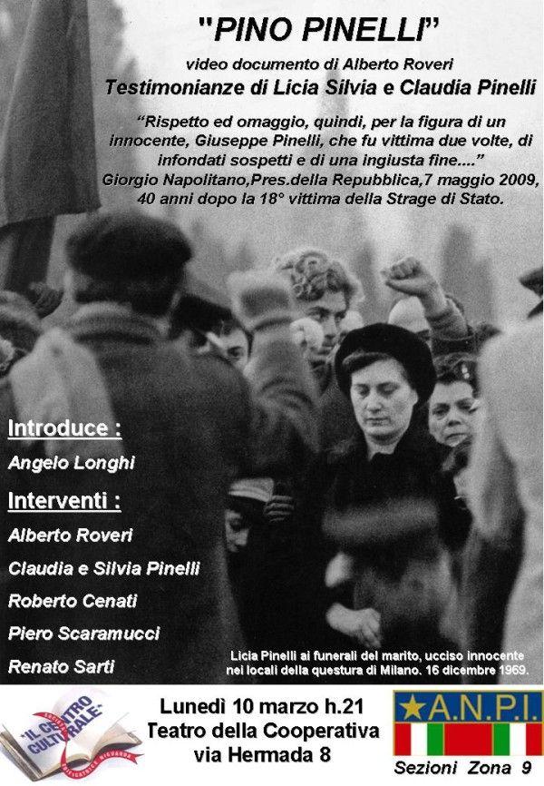 """Video documentary """"Pino Pinelli"""""""
