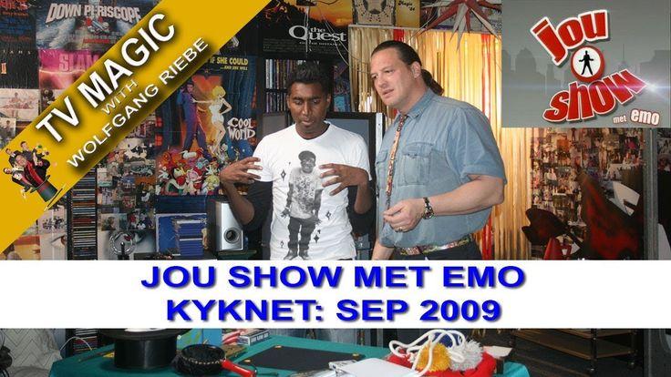 TV Magic Jou Show Met Emo Wolfgang Riebe Sep 2009