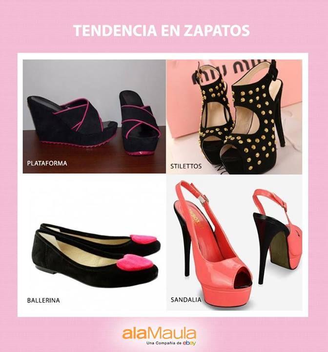 Ideas para esta temporada en www.alamau.la/Zapatos