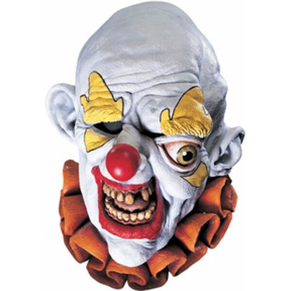 Our latex Freako the clown mask is the perfect costume mask for anybody looking to scare this Halloween. - One scary clown mask - SKU: CA-011521