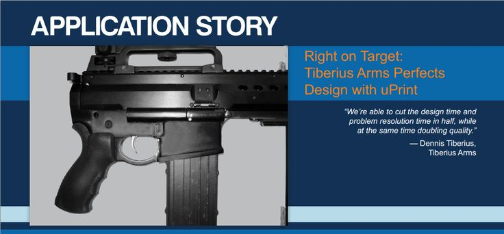 Tiberius Arms Technology: FDM Printer Series: Design Series