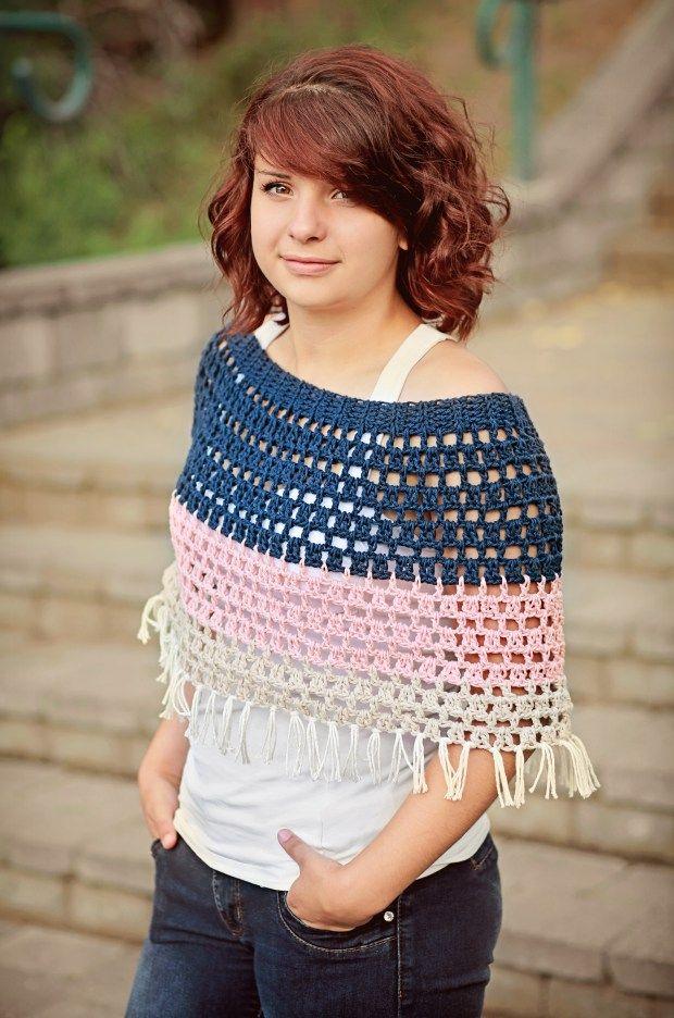 Halle's Capelet Crochet Pattern | Salena Baca Crochet