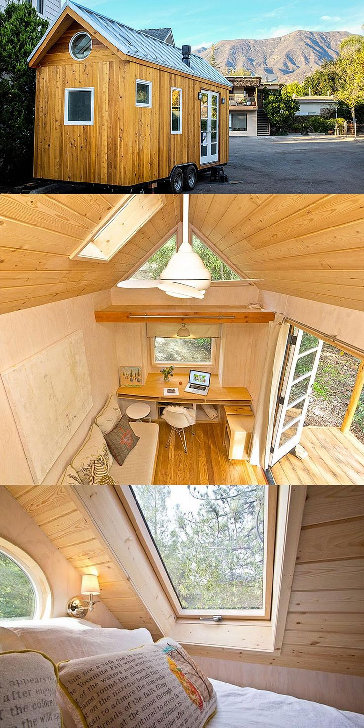 Vina Lustado; designs and builds her own 140 sq ft home.