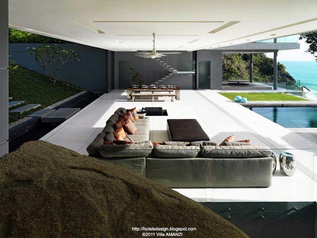 Villa Amanzi Les Plus Beaux Hotels Design Du Monde Belle Maison