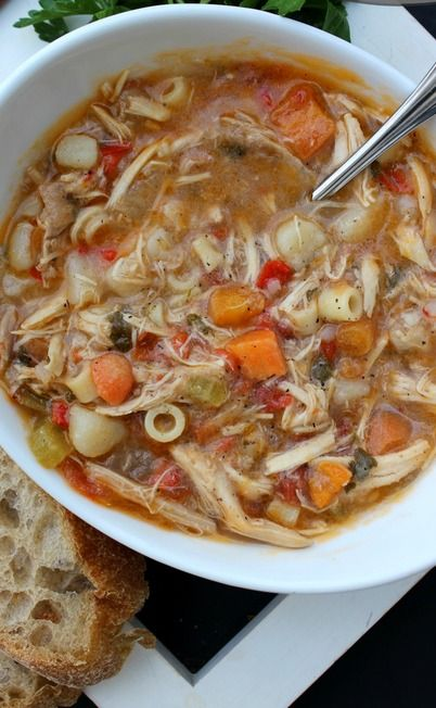 Sicilian Chicken Soup (1) From: A Dash Of Sanity, please visit