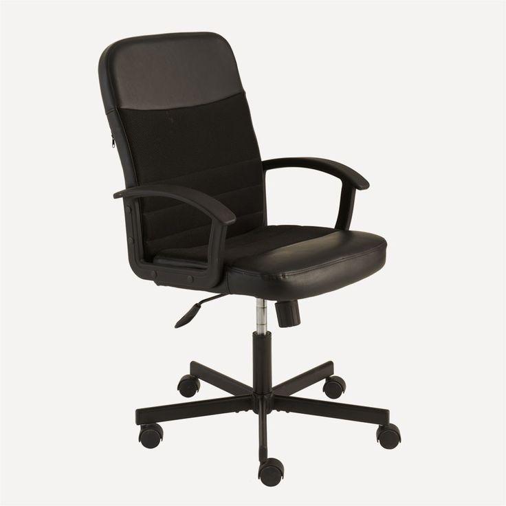 OFİSEL Max Ofis Sandalyesi (Siyah)