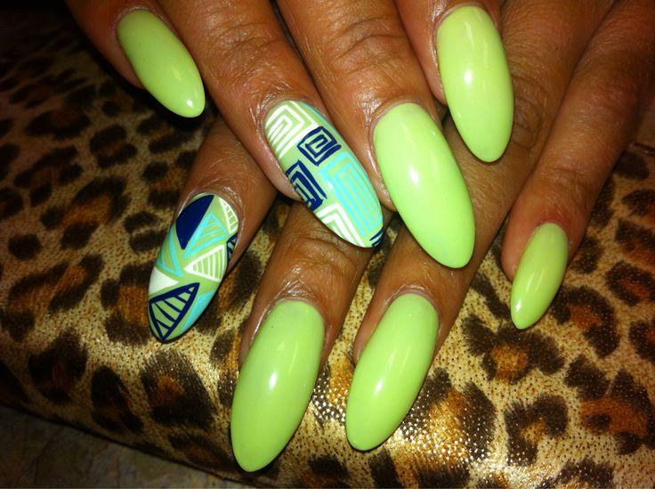 Mejores 131 imágenes de Glam Nails en Pinterest | La uña, Uñas ...