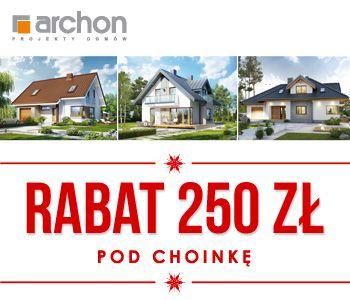 Projekty domów z rabatem 250 zł pod choinkę! Tylko do 7 stycznia 2016.
