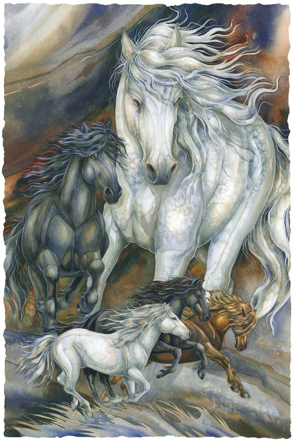 Bergsma Gallery Press :: Paintings :: Nature :: Horses :: A Sense Of Freedom - Prints