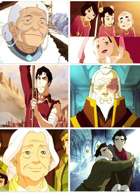 Anime Grandparents 862 best A:TLA + LOK i...
