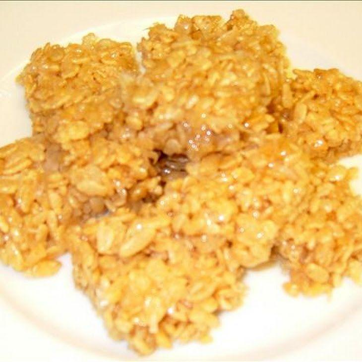 Rice Bubble Slice Recipe