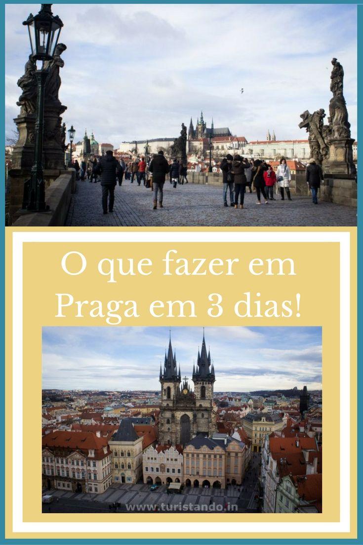 Breve roteiro na cidade de Praga; O que fazer em 3 ou 4 dias!