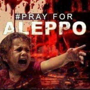Pray For Aleppo - Save Aleppo