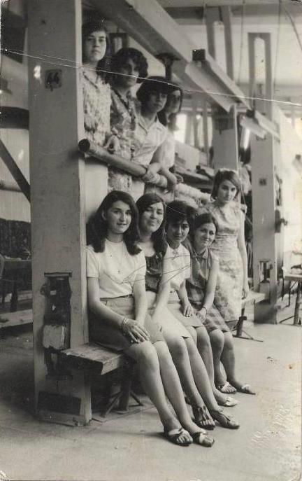 1967 Hereke Halı Fabrikası İzmit Natali Avazyan arşivi