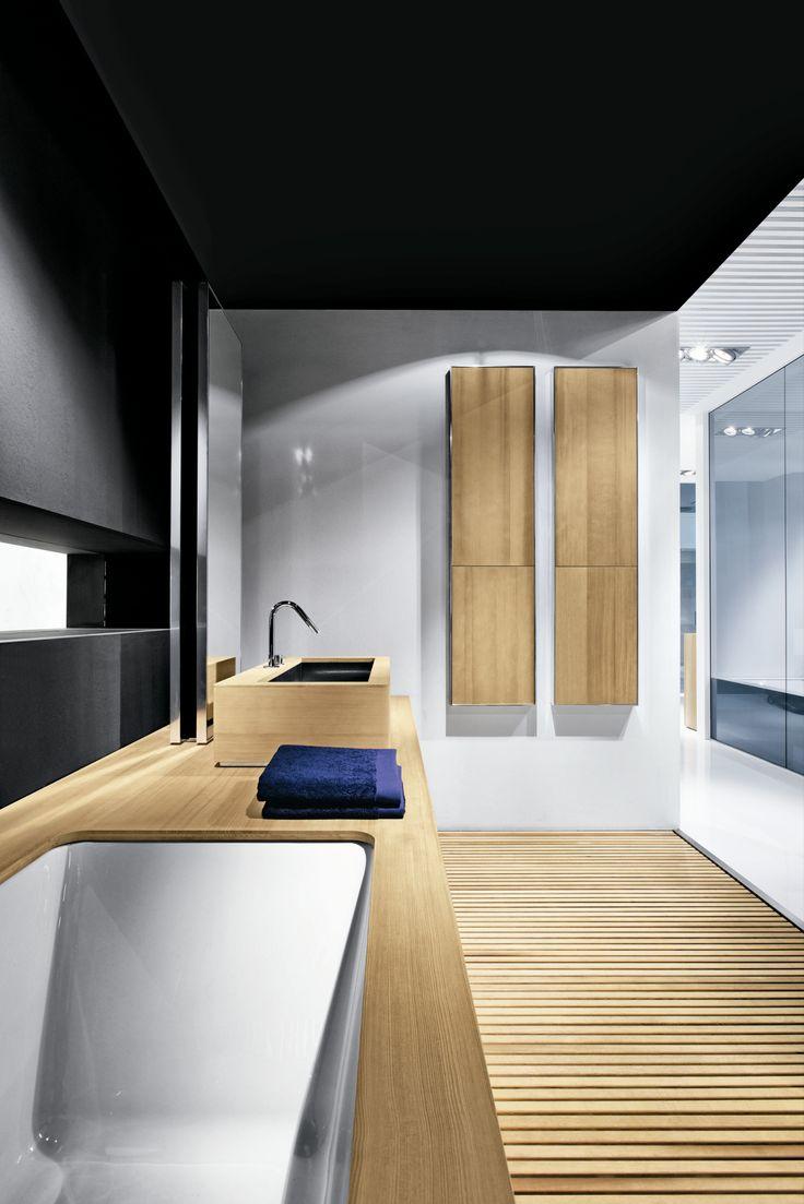 Salle de bains complète BAIGNOIRE LAVABO BACS À DOUCHE_FRONTAL 2 by MAKRO | design Makro Design