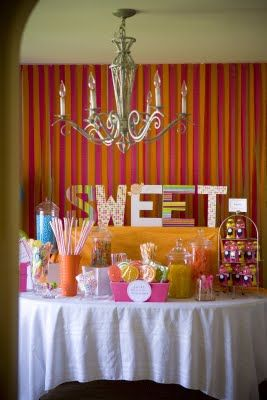 Table of sweets.Christmas Desserts, Candies Parties, Birthday Parties, Desserts Healthy, Bright Little Girls, Parties Ideas, Healthy Desserts, Girls Parties, Sheek Shindig