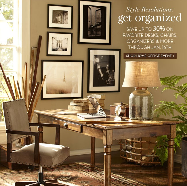 pottery barn style resolutions office designs n