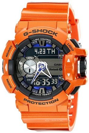 awesome G-Shock GBA400-4B G'Mix Copper Orange Bluetooth Smart Watch - For Sale