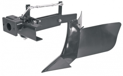 "The Adjustable Ridger is perfect for ""earthing up"" and for creating ridges and furrows in previously culitvated ground.    The Ridger is easily adjustable for depth and the wings can be adjusted from 20cm to 40cm wide.    Spade Lug Wheels are available to provide extra traction in difficult ground conditions."