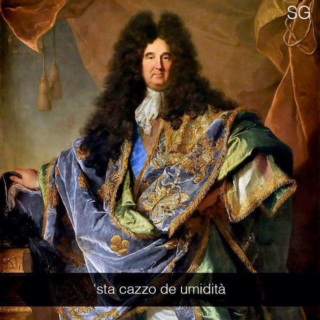 Phillippe De Courcillon - Hyacinthe Rigaud (1702) #Seiquadripotesseroparlare  #stefanoguerrera