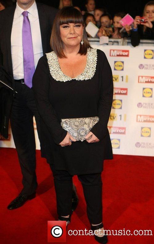 Dawn French @ The Daily Mirror Pride of Britain in a lovely Yoek top!