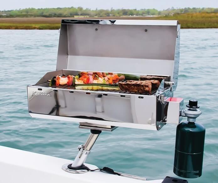5 Best Pontoon Boat Grills Unbiased Review Betterboat Pontoon Blog Boat Bbq Boat Grill Pontoon Boat