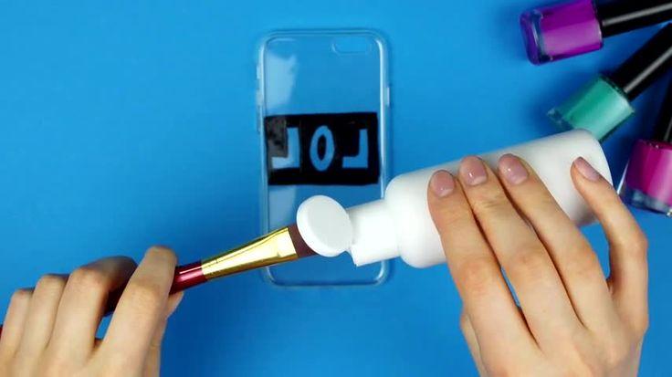 DIY: carcasa de móvil personalizada