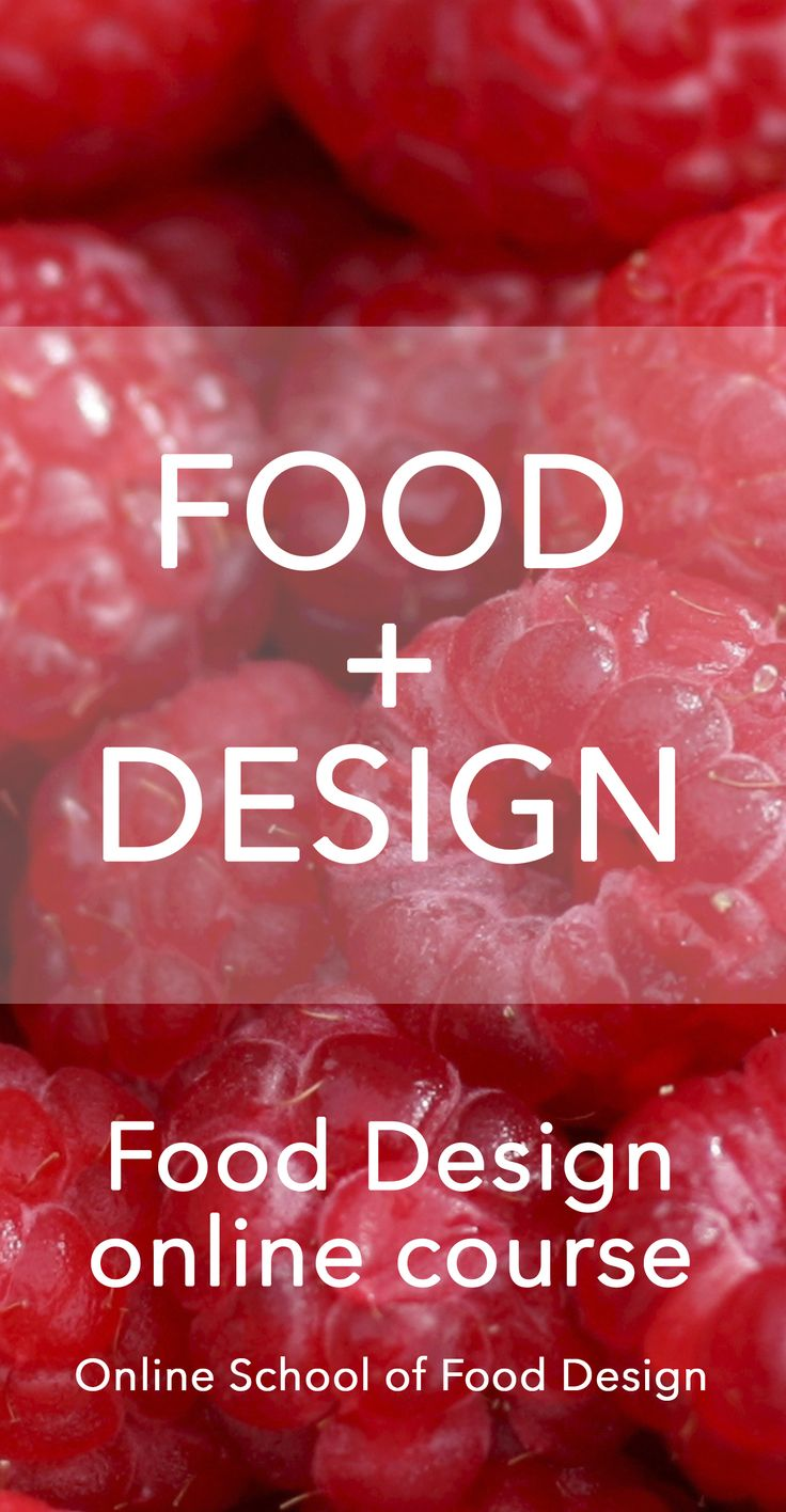 FOOD+DESIGN, the most comprehensive online course available, to kickstart your career as a food designer, or to bring Food Design in your business! Learn more here: http://onlineschooloffooddesign.org/courses/food-design