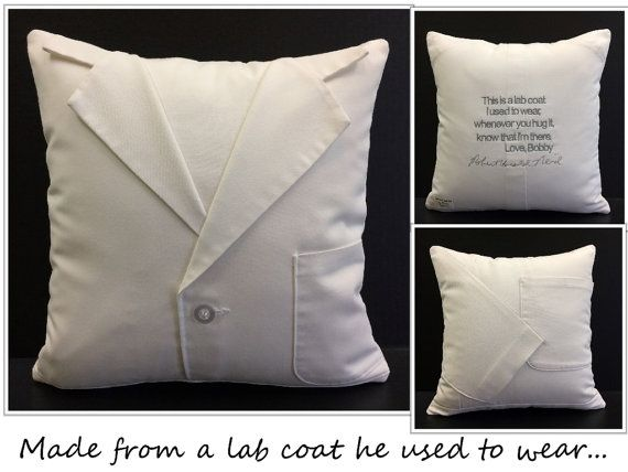 Memory Pillow Shirt Pillow Sympathy Gift by CustomMadeByPam