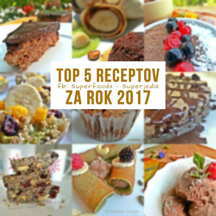 V tomto článku nájdete prehľad  Top  5 receptov za rok 2017. Čítať viac...