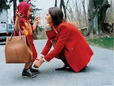 Mama and child (love this image) :: an old Kate Spade ad via Elsa May blog