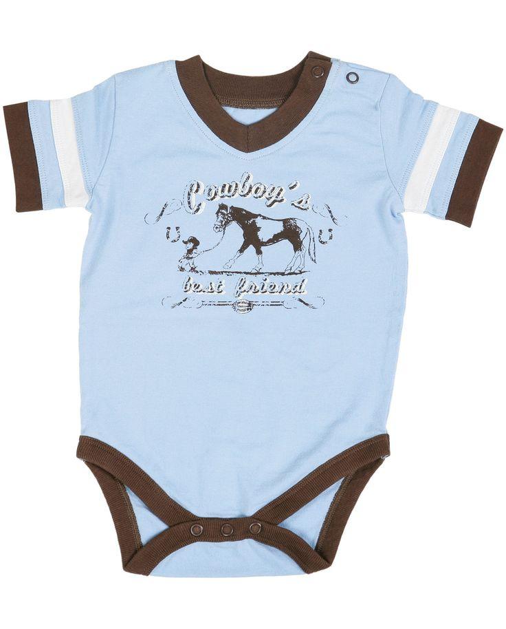 All Around Baby By Wrangler 174 Boy S Quot Cowboy S Best Friend