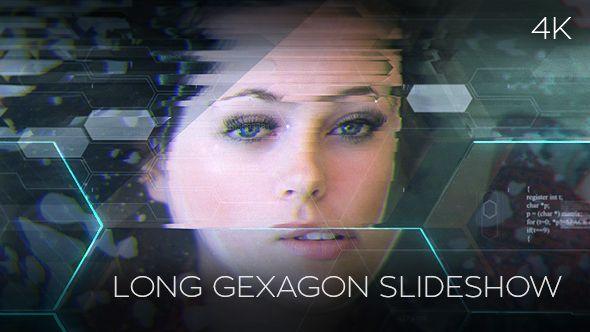 Long Gexagon Slideshow (Abstract)