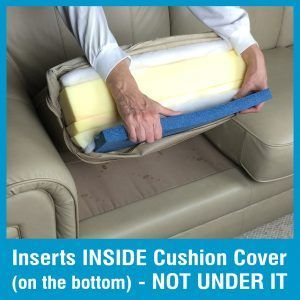 Sagging Cushion Support Couch Cushions Diy Couch