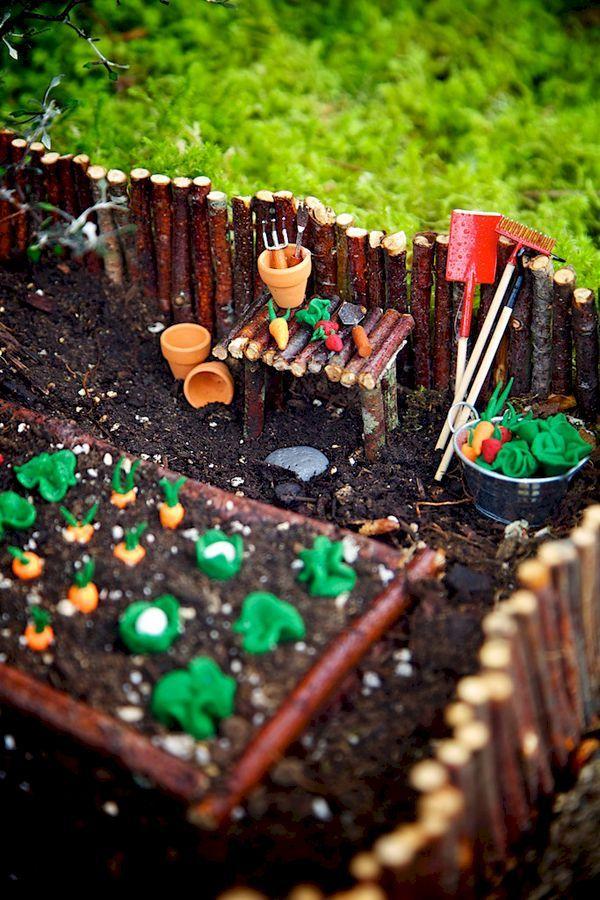 cool 55 Magical Fairy Garden Ideas https://homedecort.com/2017/04/55-magical-fairy-garden-ideas/