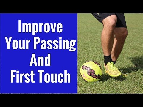 This video breaks down an easy soccer #drill to help improve your passing and first touch with the ball.