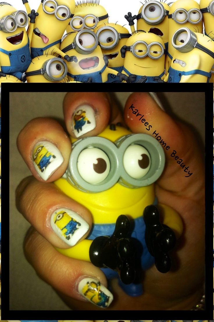 162 best nail art and designs images on Pinterest | Despicable me ...