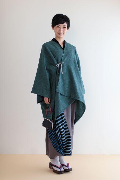 SOU・SOU 着衣 モスリン 富士・富士宝永 - イスラム文化圏の民族衣装「サルール」を元にした、たっぷりとしたシルエットのズボン