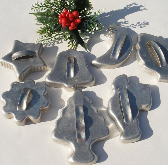 Vintage cookie cutters  These are similar to the set we had as a child. Wish I could re-acquire them!