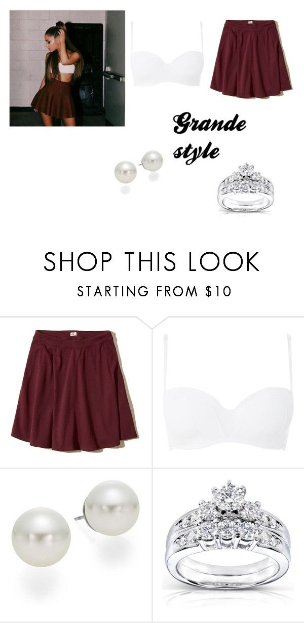 """Grande"" by grandestyle-1 on Polyvore featuring Hollister Co., Elle Macpherson Body, AK Anne Klein and Kobelli"